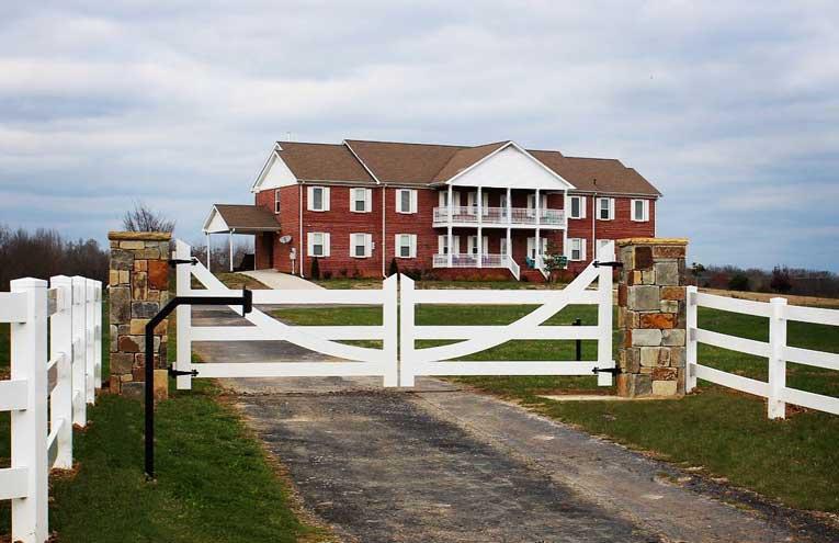 white-driveway-fence